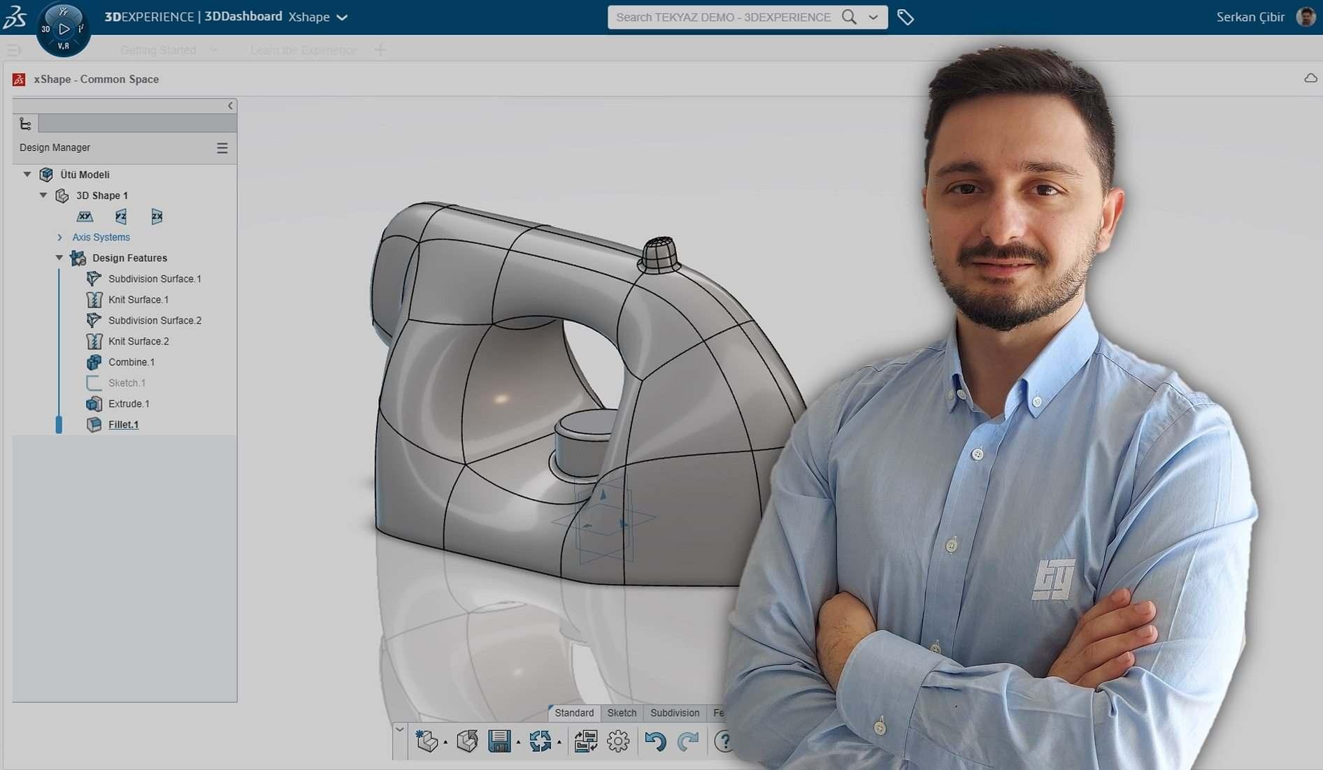 3DEXPERIENCE xShape Eğitimi